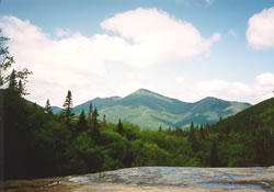View from Indian Falls in the Adirondack High Peaks